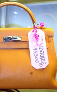 Hermes Handbag - Manhattan Vintage Clothing Show