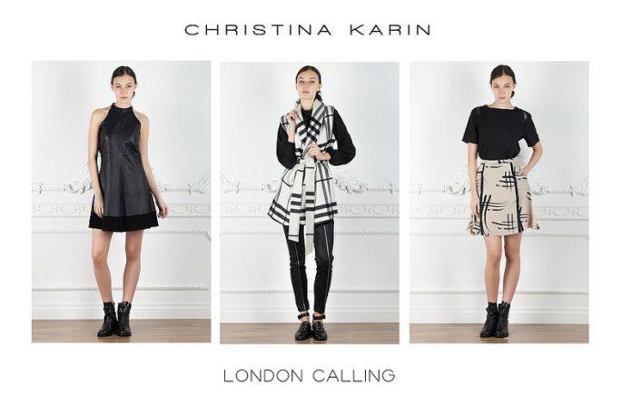 Christina Karin London Calling Collection
