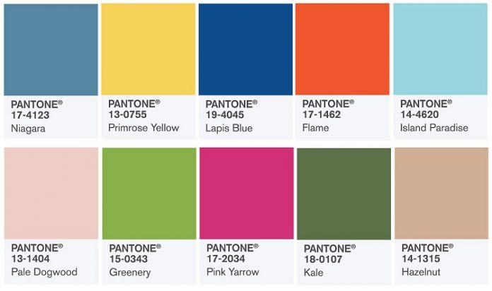 Pantone Color Trend Report Spring 2017