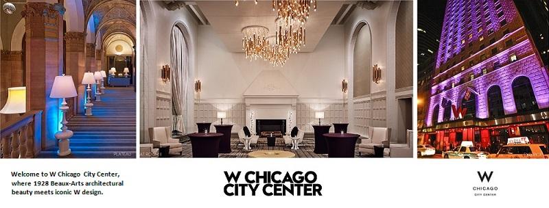 W Chicago City Center 3 Panel