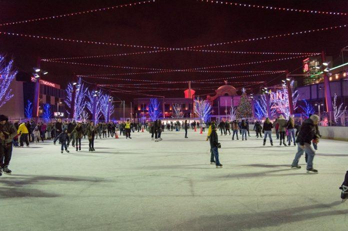 Ice Skating in Rosemont