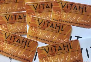 VITAHL Medical Aesthetics $25 Gift Card