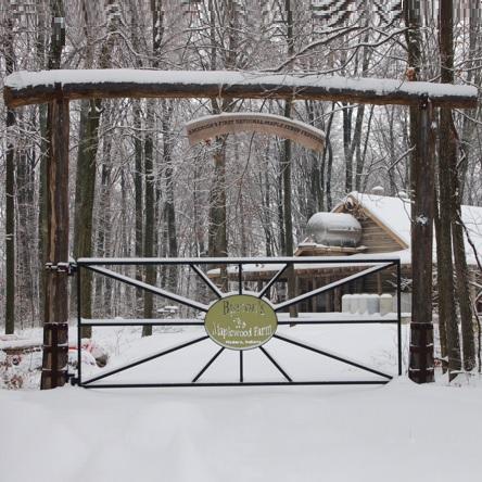 Burton Maplewood Farm entrance