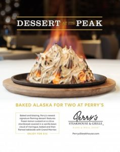 Perry's Steakhouse & Grille Baked Alaska