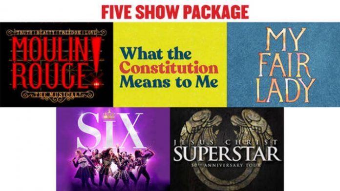 Broadway in Chicago Five-Show Season