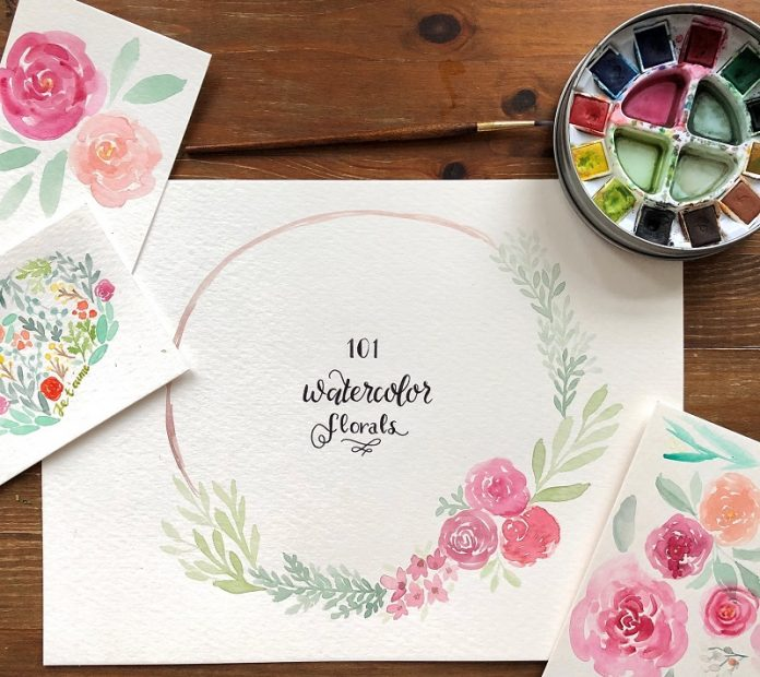 Learn to Paint Watercolor Florals