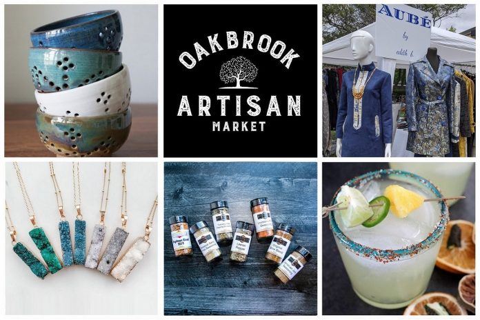 Oak Brook Artisan Market - Outdoor Market at The Drake - Oak Brook