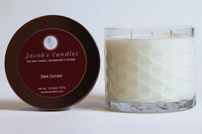 Jacob's Candles (dark current) - soy wax candle