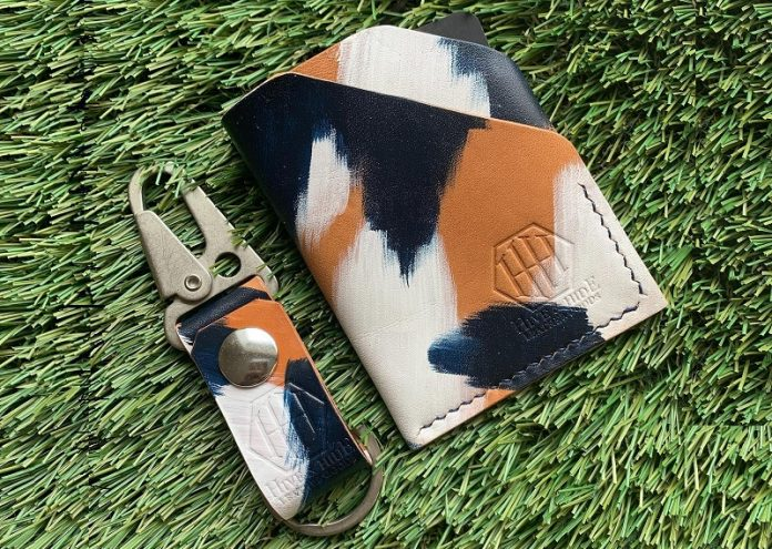 Hive & Hide Leather Goods - Key Chain & Wallet