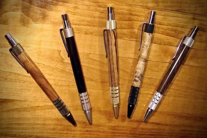 Wood Pens & Things @ Oak Brook Artisan Market - collection vignette