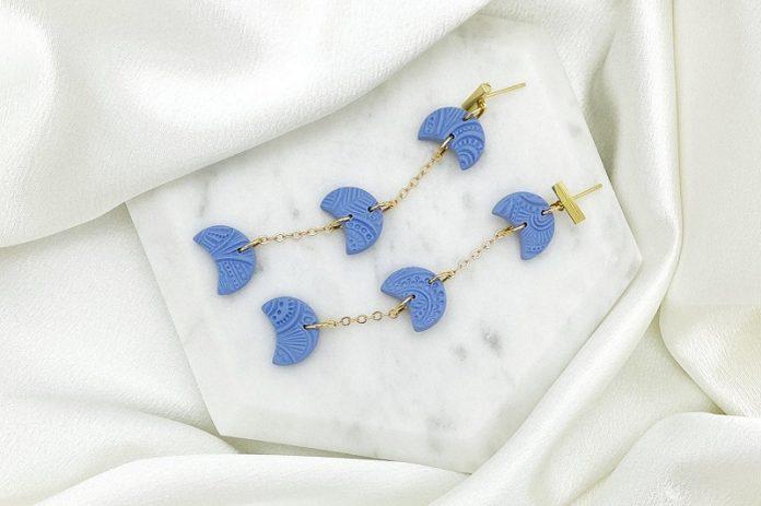 Love That @ Oak Brook Artitsan Market (periwinkle earrings)