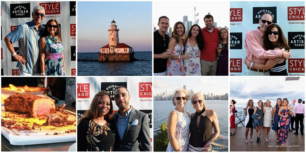 StyleChicago.com's Cruise in Style 2021 - Thursday, July 15, 2021 - 8-panel of photos from past years