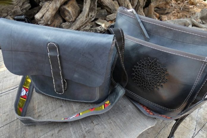 Handicraft Soul - messenger bags at Chicago Artisan Market
