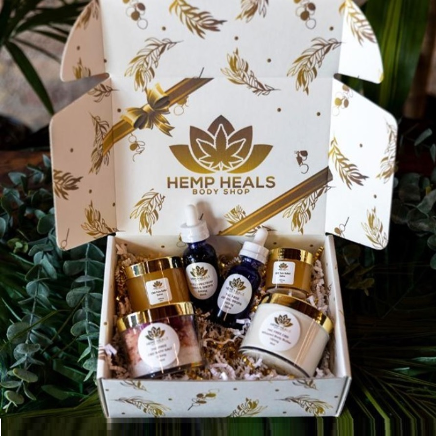 Hemp Heals Body Shop - CBD Gift Box