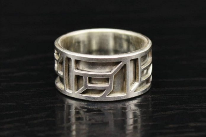 OneEleven Goods at Chicago Artisan Market (sterling silver ring)