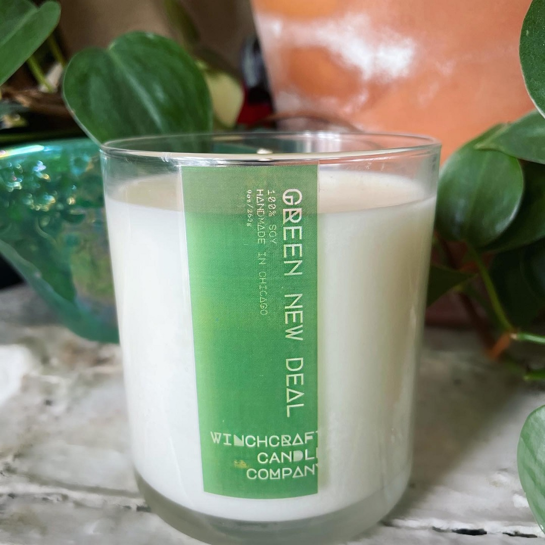 Winchcraft Candle Co. - Green New Deal candle