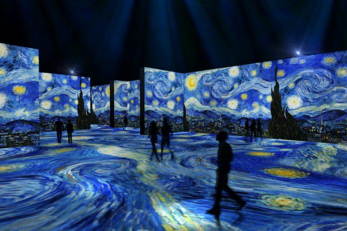 The Immersive Van Gogh Art Exhibit