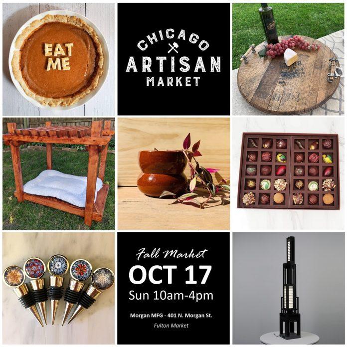 Chicago Artisan Market at Morgan MFG - Oct 17, 2021