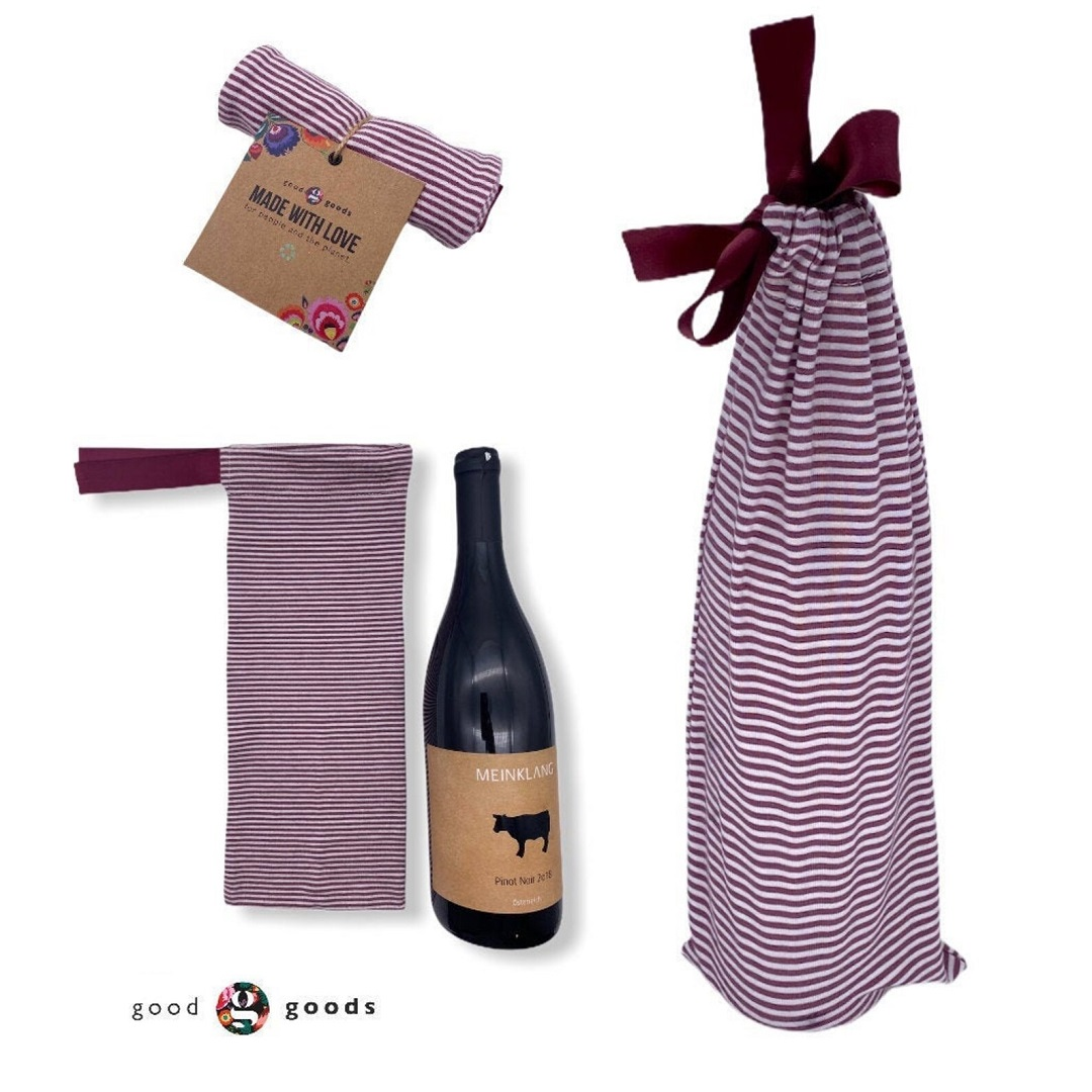 Good Goods - re-usable wine carriers
