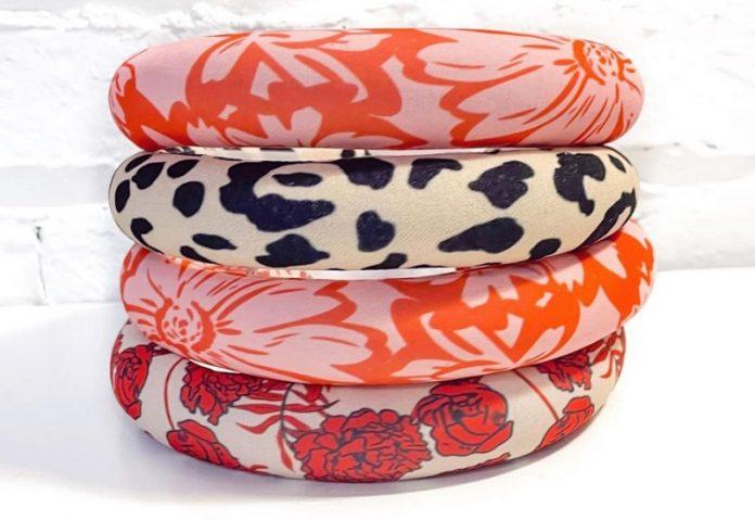 Iris Atelier at Chicago Artisan Market (colorful headbands)